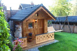 Unsere neue Sauna im Garten vom Pulvererhaus
